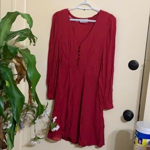 & other stories red dress
